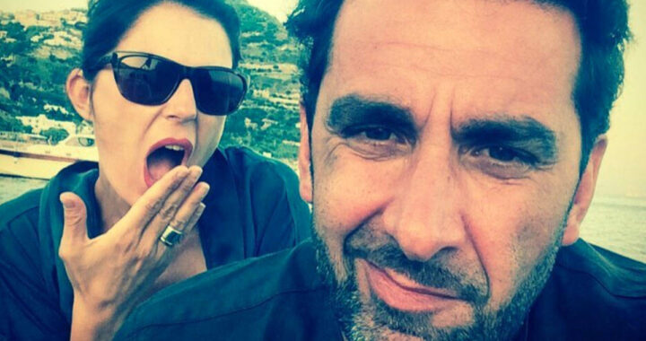 Marina La Rosa e l'ex marito