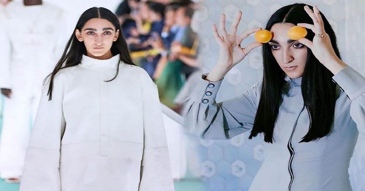 Jasmine Carrisi dalla parte della nuova modella di Gucci Armine Harutyunyan