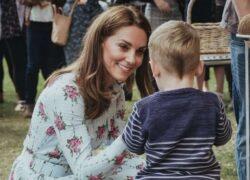Kate Middleton vestito a fiori
