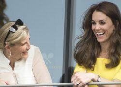 Sophie di Wessex e Kate Middleton