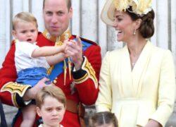 Kate Middleton, William e i figli
