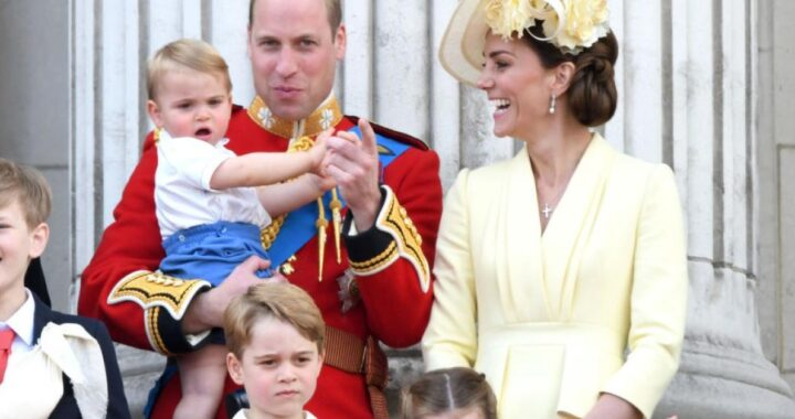 Kate Middleton, William e i figli