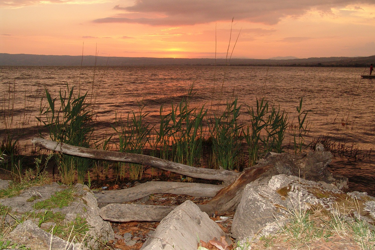 Sabbia lago di Bolsena