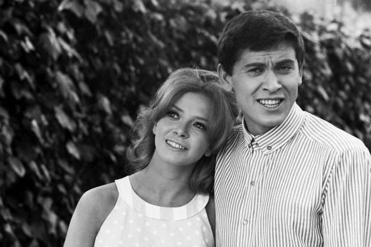 Gianni Morandi e l'ex moglie