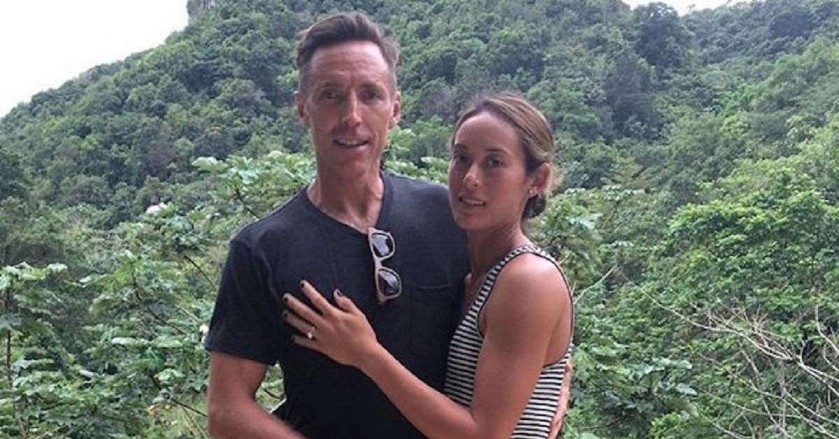 Steve Nash e la moglie