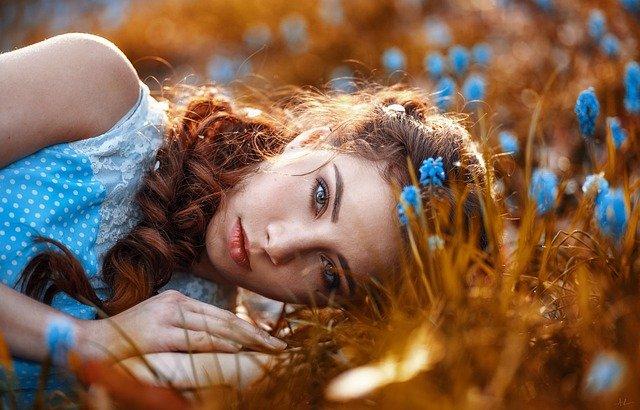 i colori dell'autunno e i capelli