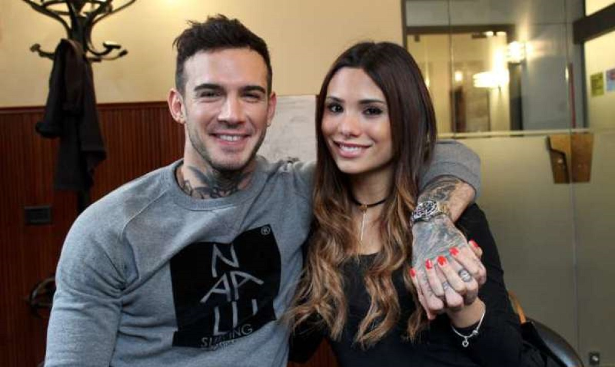 Silvia Corrias e l'ex marito