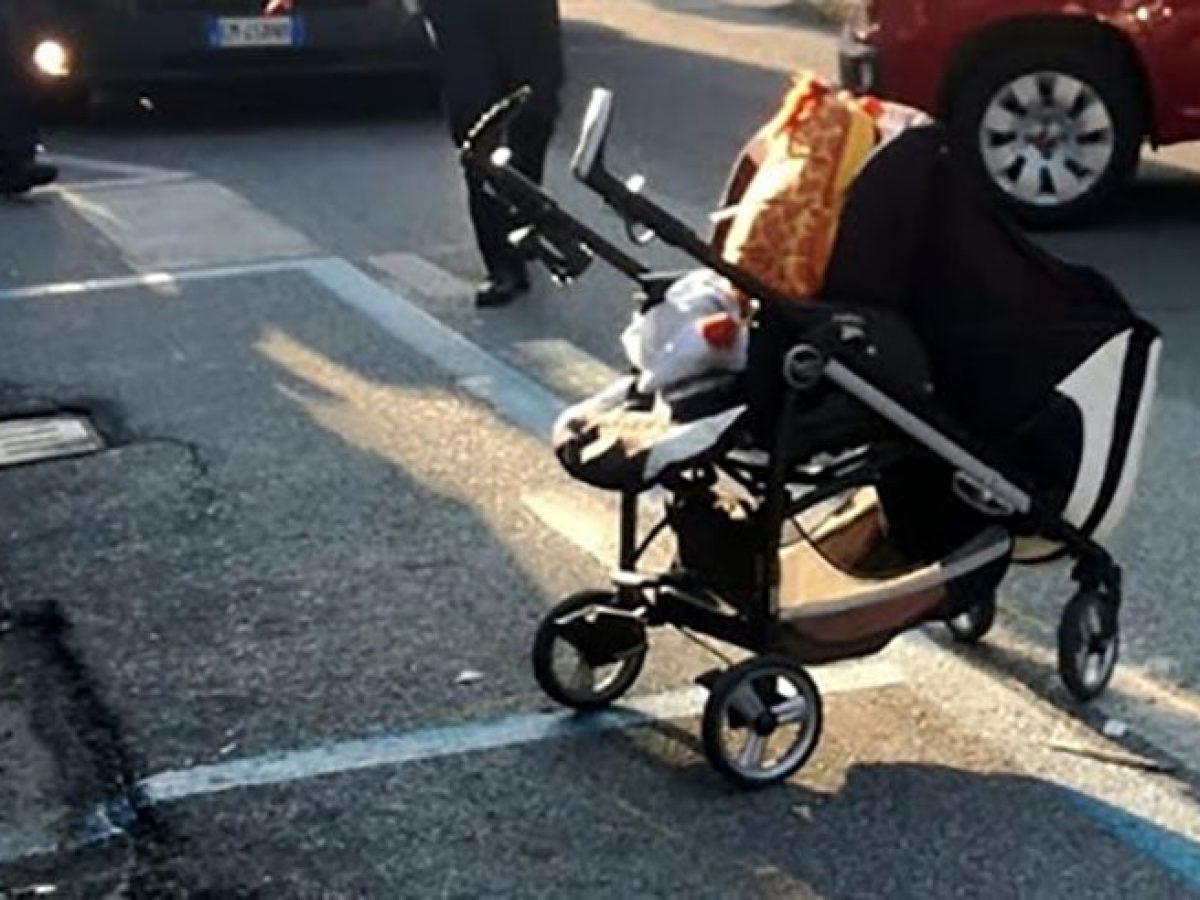 figlio 3 mesi abbandonato mamma