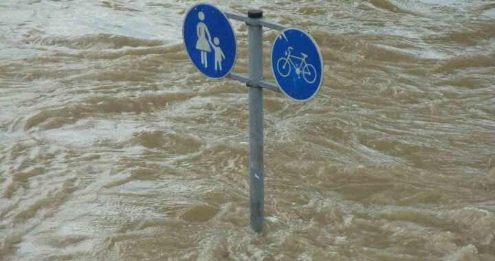 Alluvione allaga la città