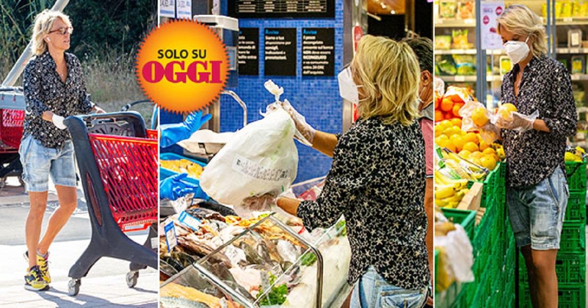 Maria De Filippi al supermercato