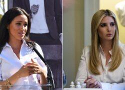 Meghan Markle e Ivanka Trump