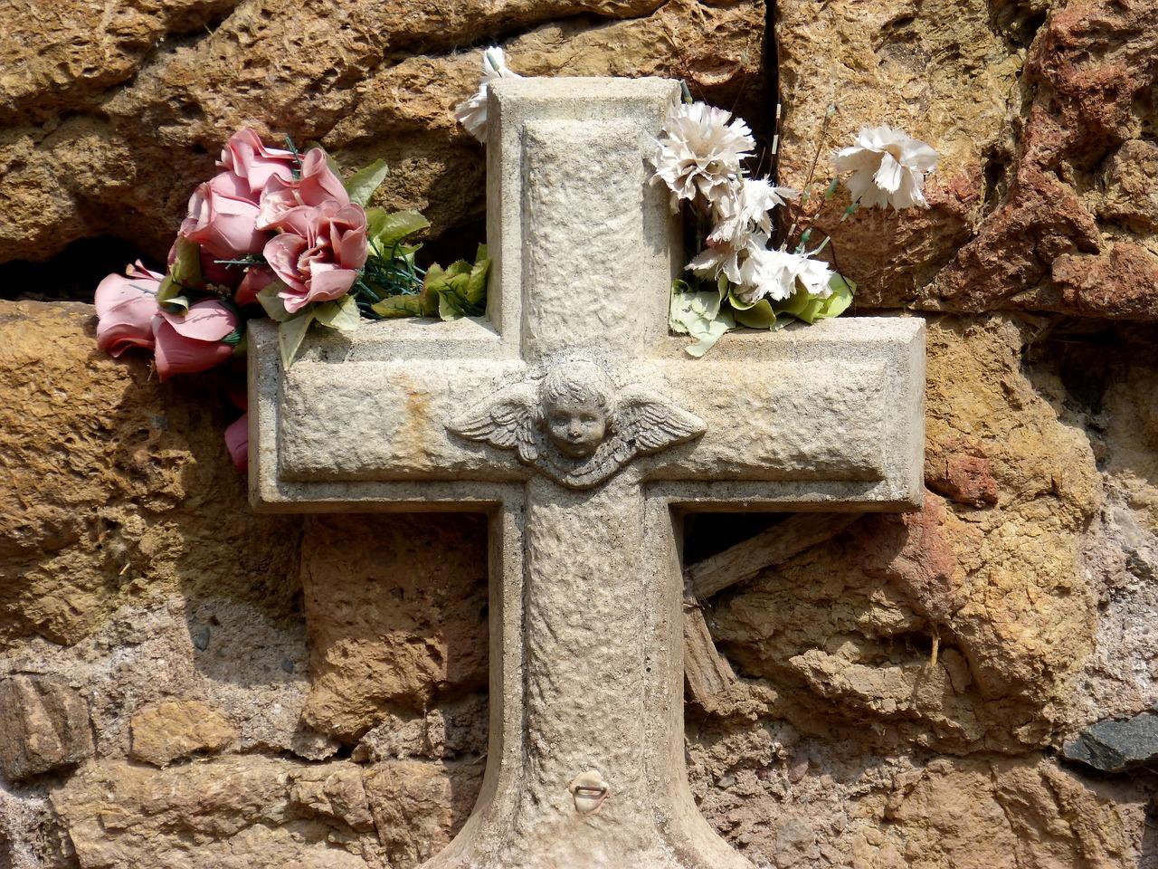 La tomba di un neonato