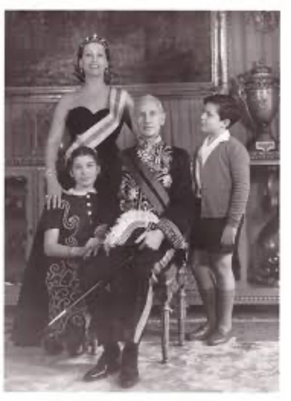 Patrizia De Blank e la sua famiglia