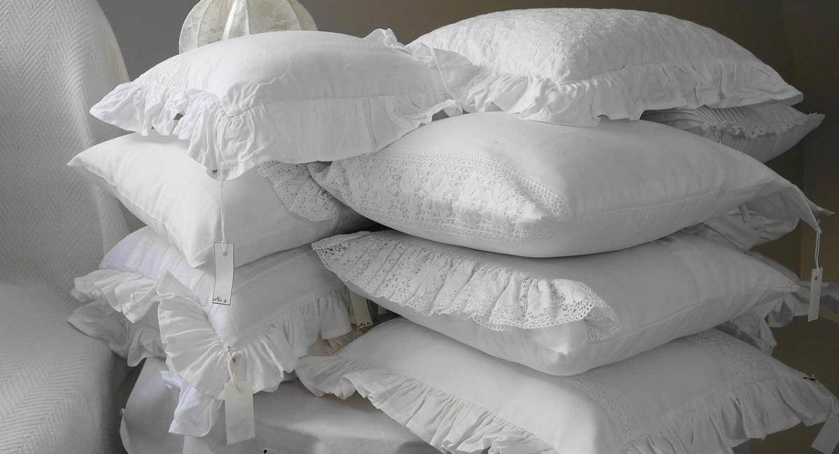 pulire i cuscini