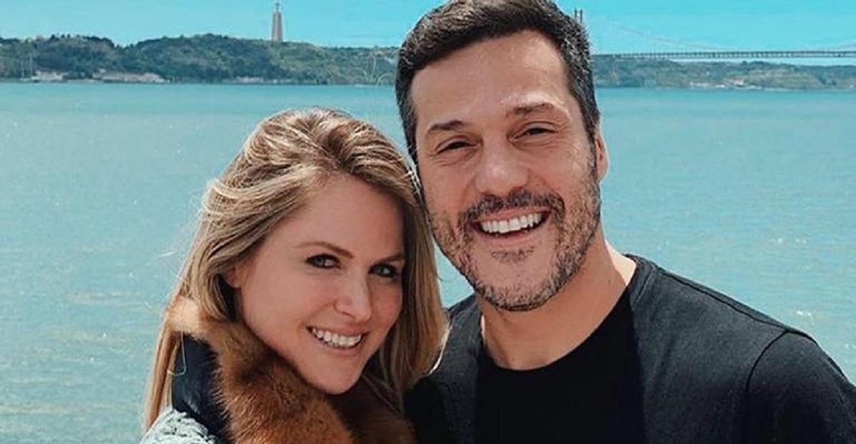 Julio Cesar e la moglie