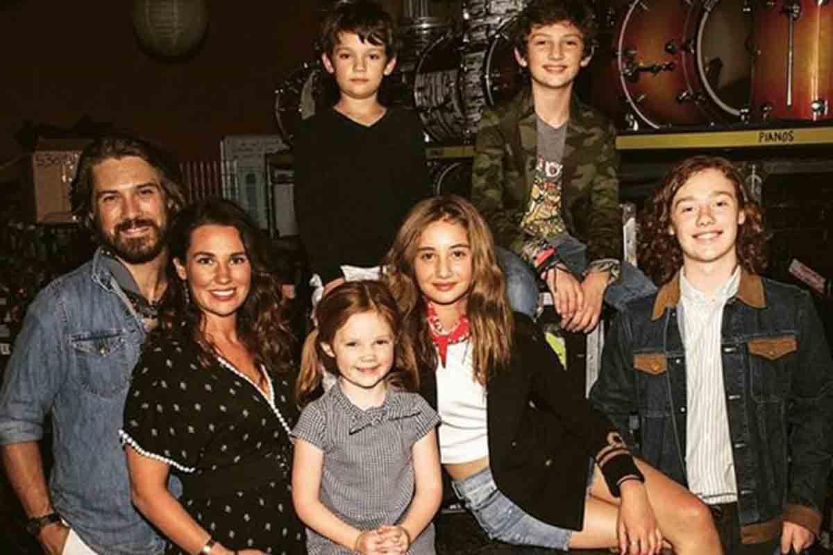 La famiglia di Taylor Hanson