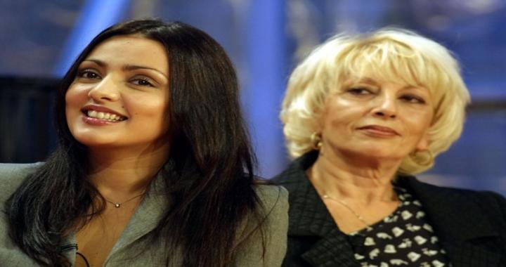 Ambra Angiolini con la mamma Doriana Angiolini