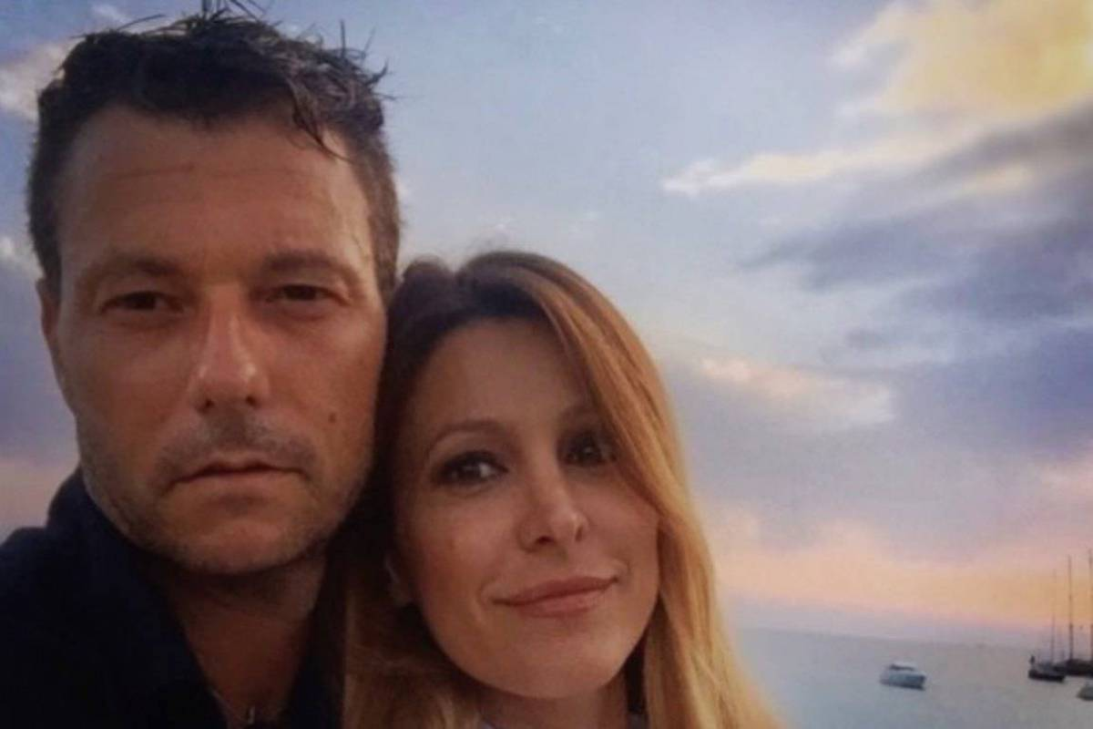 Selfie Roberto Parli e Adriana Volpe