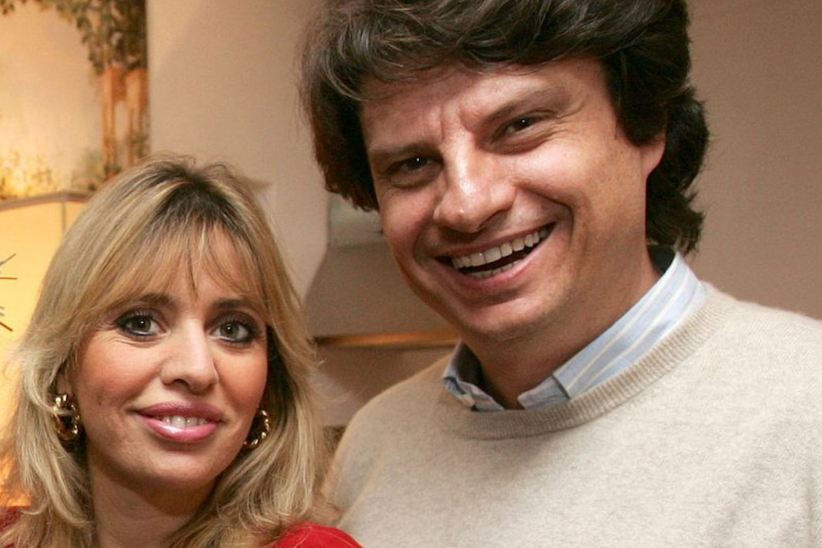 Alessandra Mussolini e il marito Mauro Floriani