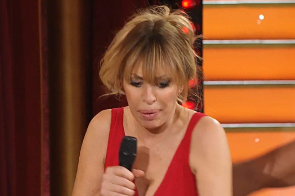 Alessandra Mussolini in pista a Ballando