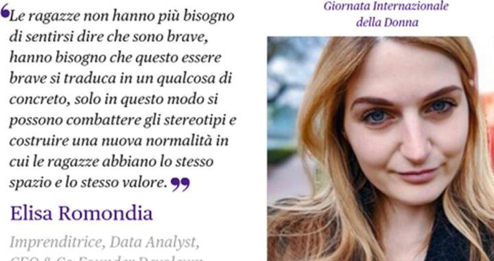 Elisa Romondia, la Data Analyst che ha creato Dammi una mano