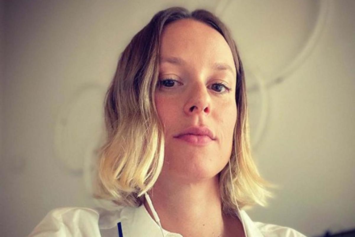 Federica Pellegrini selfie