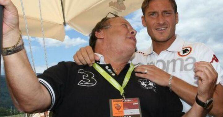 Francesco Totti e le parole d'amore per papà Enzo