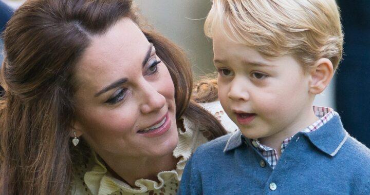 Kate Middleton e George