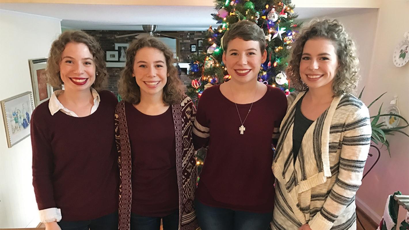 Le Laughing Quadruplets oggi