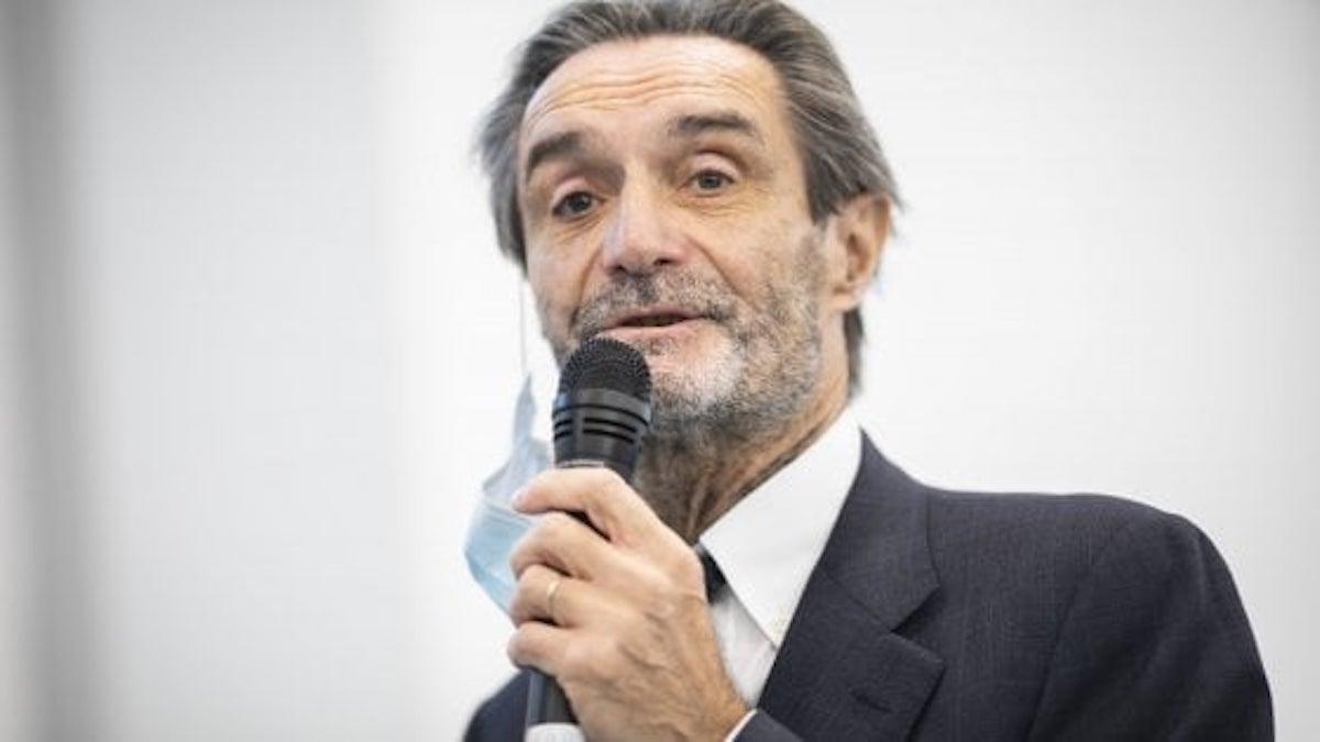 Lombardia Attilio FOntana covid