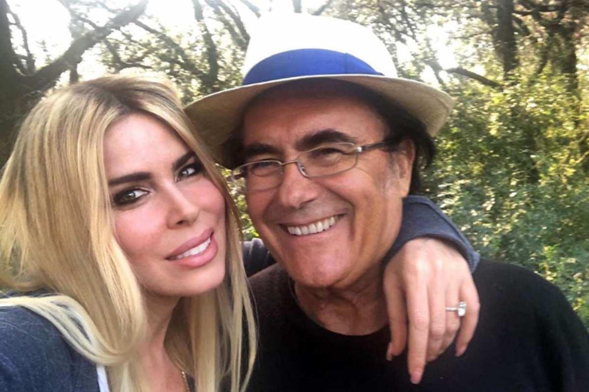 Loredana Lecciso e Al Bano sorridenti