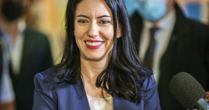 Lucia Azzolina mezzobusto