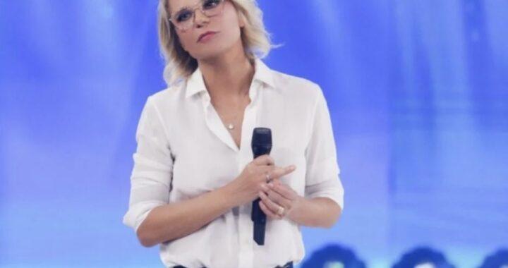 Maria De Filippi davanti alla telecamera