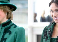 Lady Diana Meghan Markle