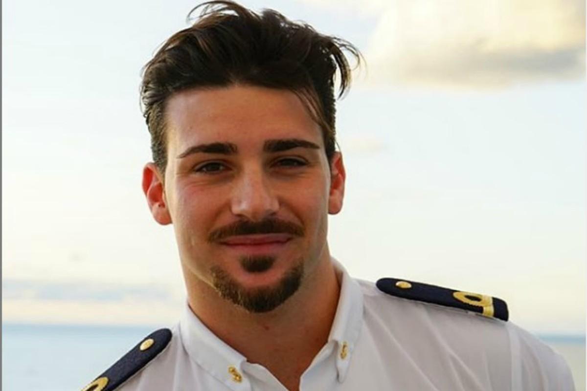 Nicola Vivarelli ufficiale di Marina