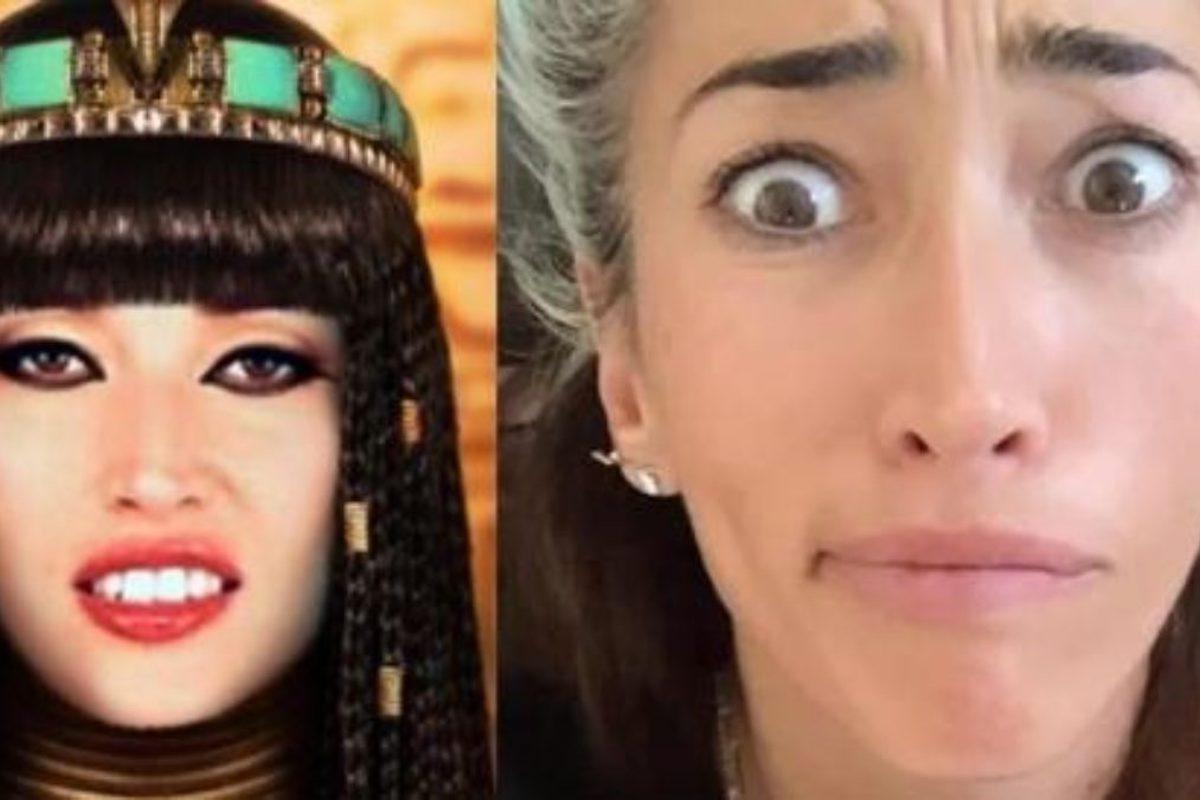 Nina Zilli che diventa Cleopatra