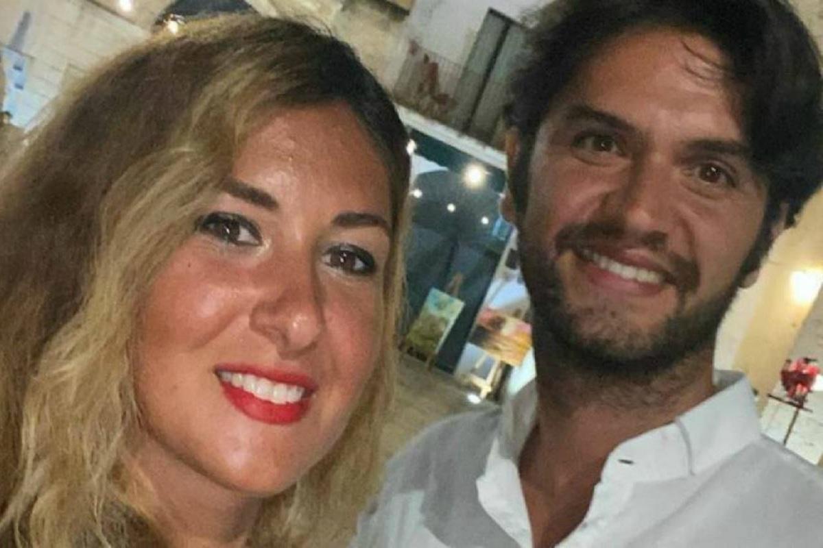 Eleonora Manta e Daniele De Santis sorridenti