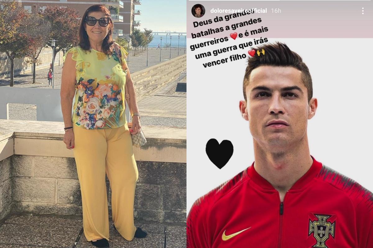 Ronaldo positivo, i messaggi di sua mamma e di Georgina