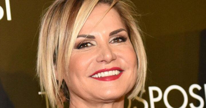 Simona Ventura sorridente