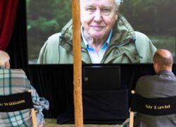 Sir David Attenborough Principe William (1)