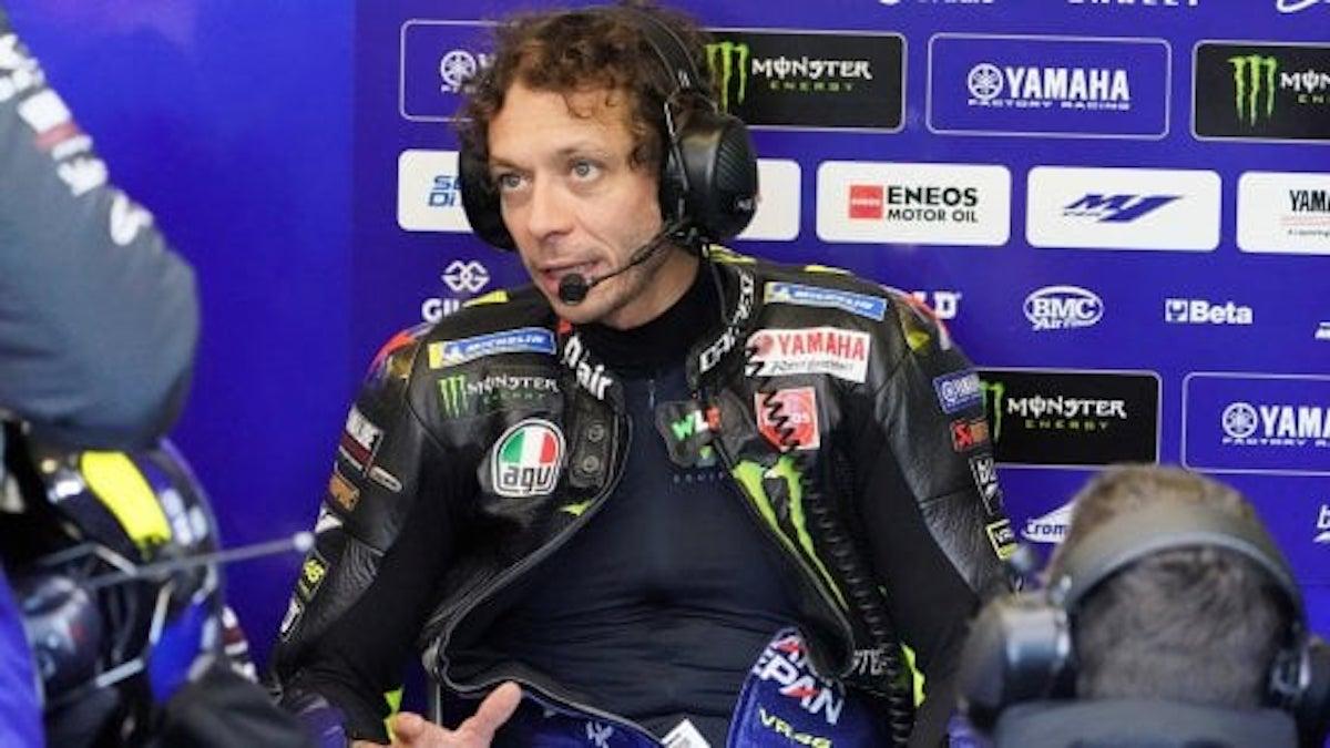 Valentino Rossi triste e arrabbiato: positivo al Covid