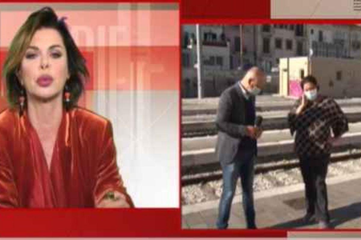 Alba Parietti a storie italiane