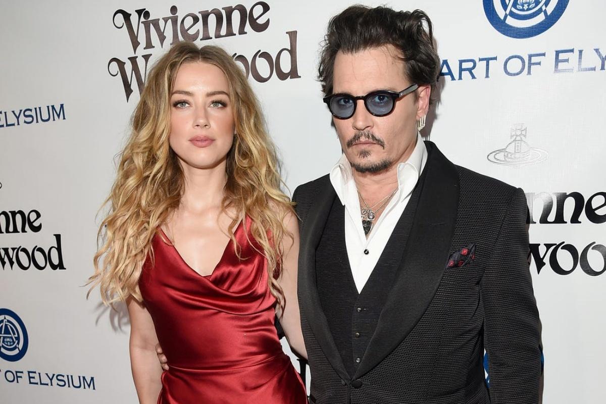 Johnny Depp e l'ex moglie