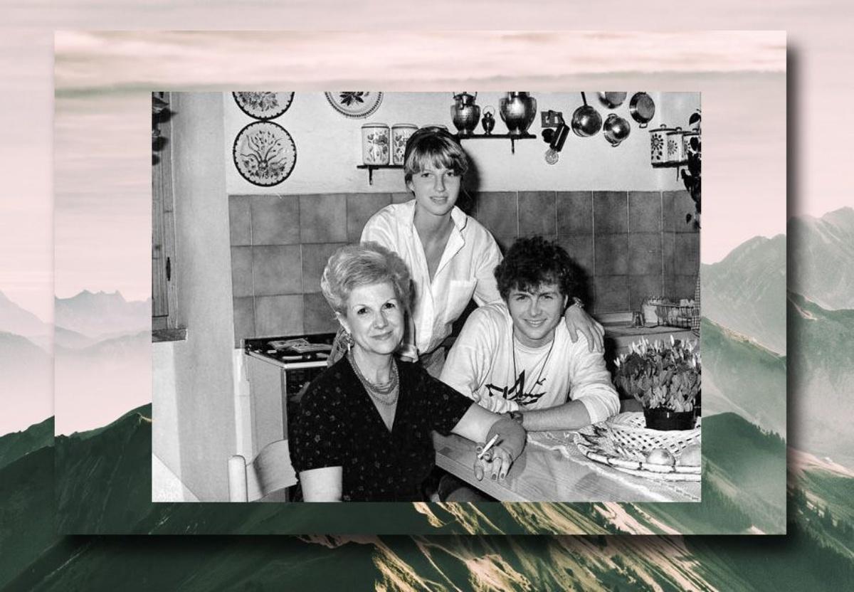 Jovanotti e la sua famiglia
