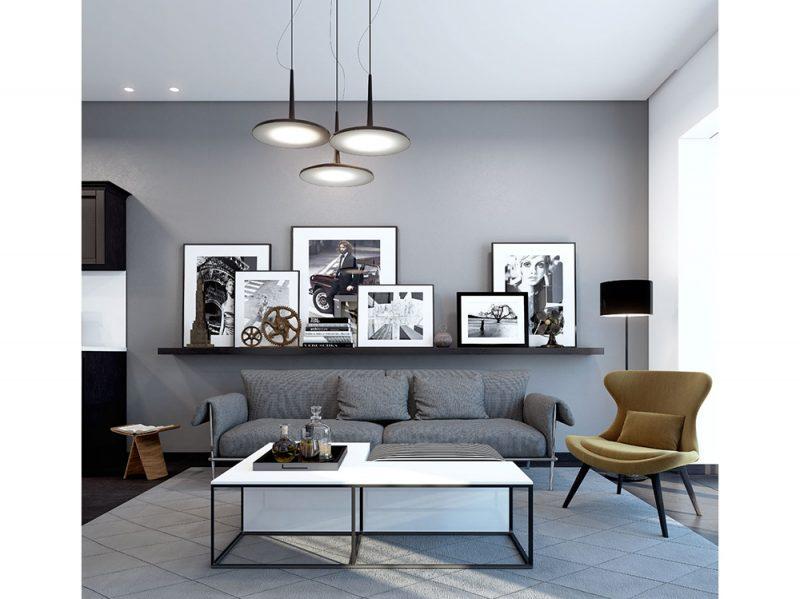 arredare quadri in bianco e nero