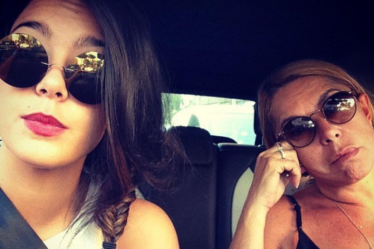 Anna Pettinelli e la figlia