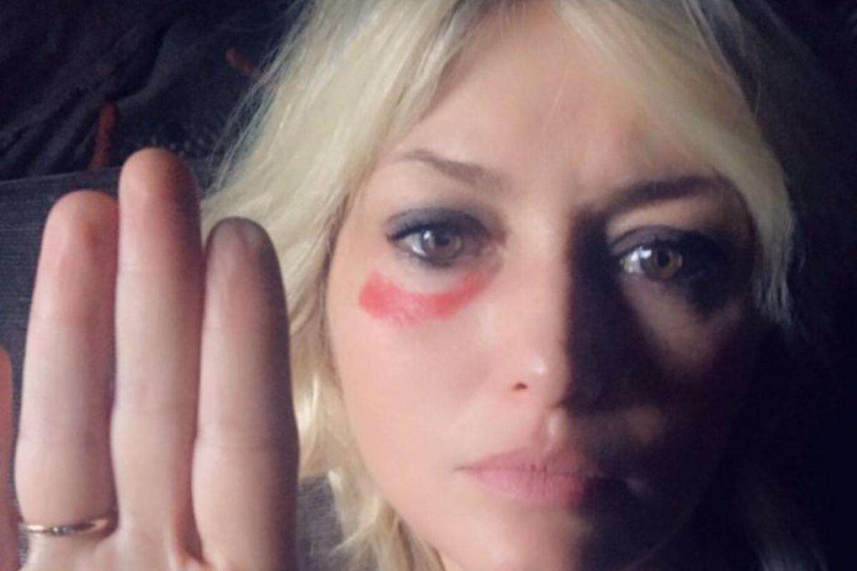Chiara Conti contro la violenza sulle donne