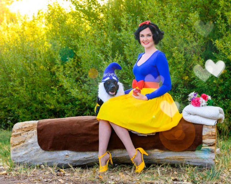 La principessa Disney e un nano