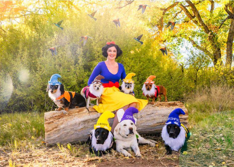Sasha Hobson e i suoi cuccioli