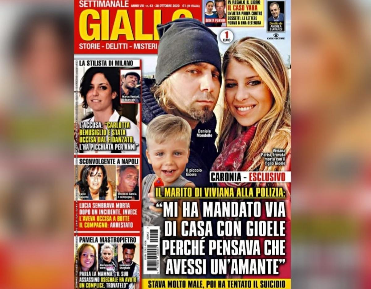 Daniele Mondello testimonianza rivista Giallo